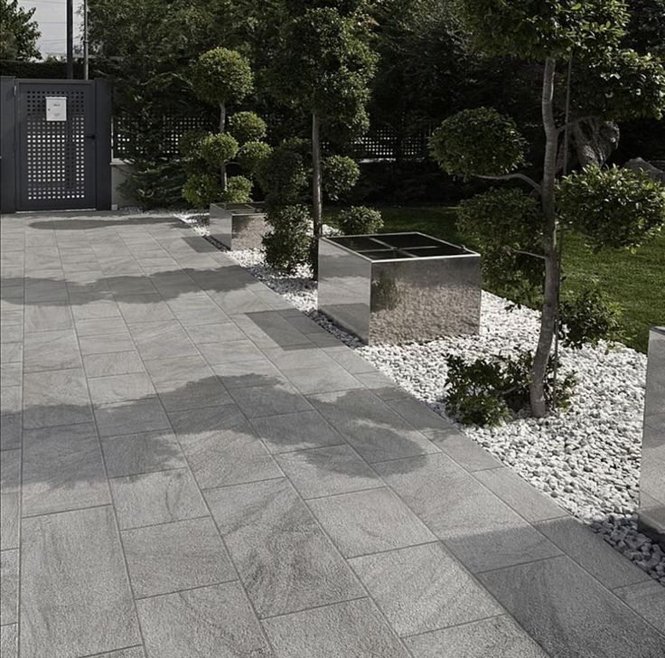 Patio Tiles gray tile gray stone - Google Search