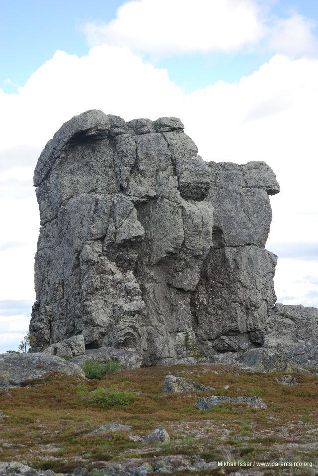Plateau Torroporre or Stone Town, Republic of Komi.