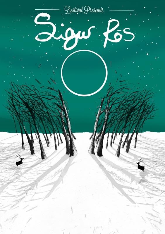 Sigur Ros by Matt Saunders