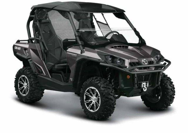 can am side by side | The 2012 Can-Am Commander 1000 Limited The Future in Utility Vehicles ...