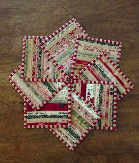 Quilts In The Barn: Its beginning to look like Christmas!  coasters