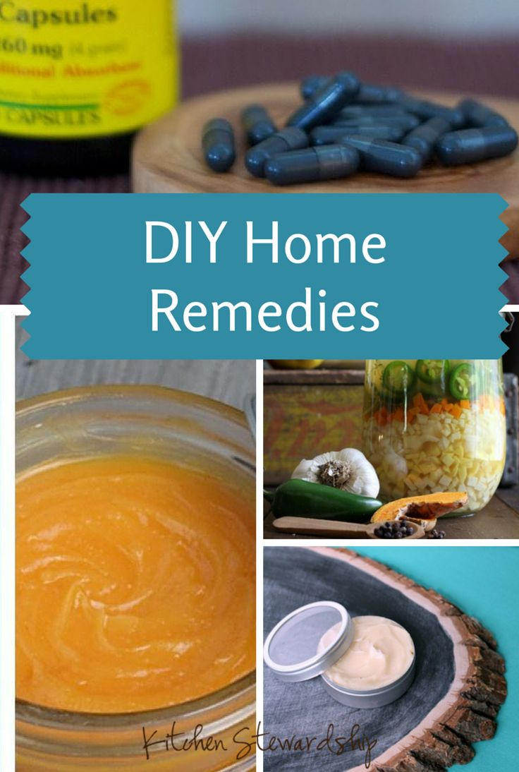 DIY Home Remedies: Find Relief for What Ails You (Inside & Out!) with our roundup of Pinterest Favorites