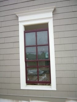 Window Trim For Interior Front Windows.