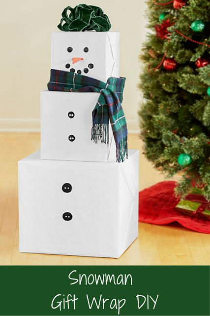 Easy DIY Holiday Gift Wrapping ideas for Christmas & Hanukkah. Fun to make with or for kids. These ideas are so creative!