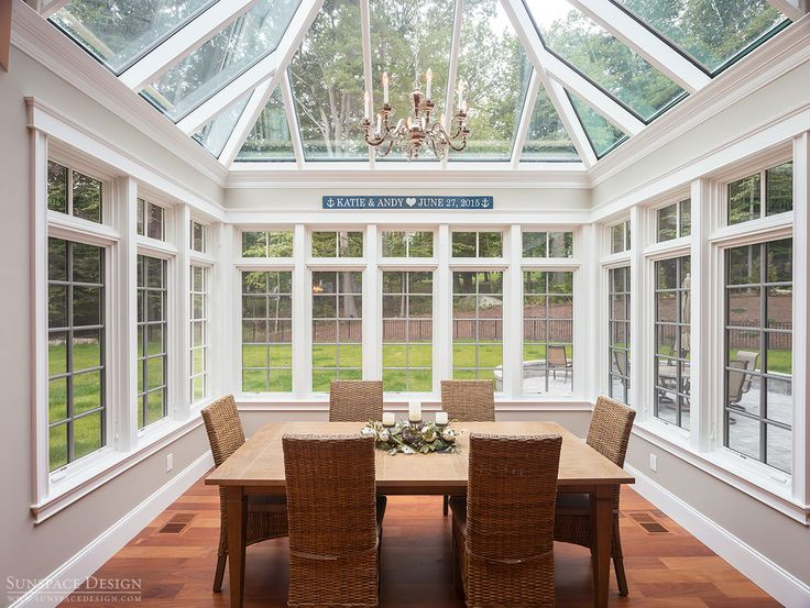 Fresh Glass Roof Sunroom