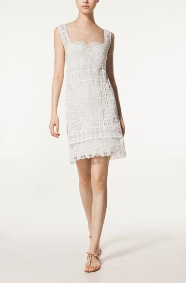 Massimo Dutti CROCHET DRESS - Dresses - New Season - WOMEN - United Kingdom