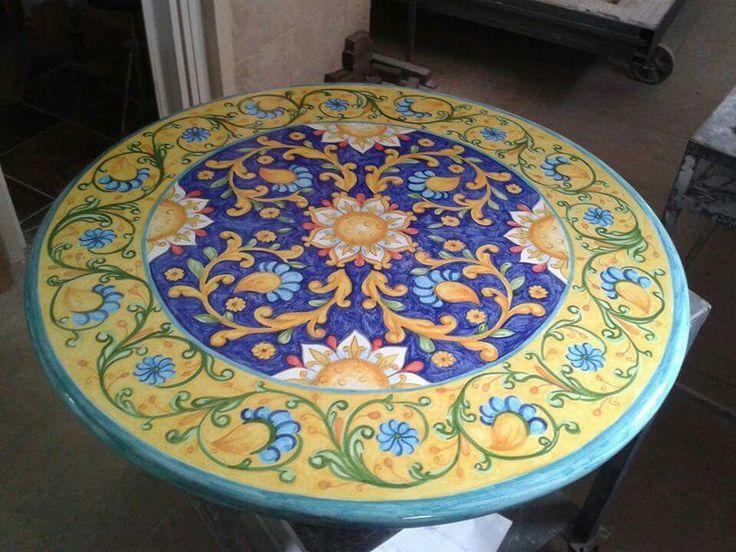Lava stone table