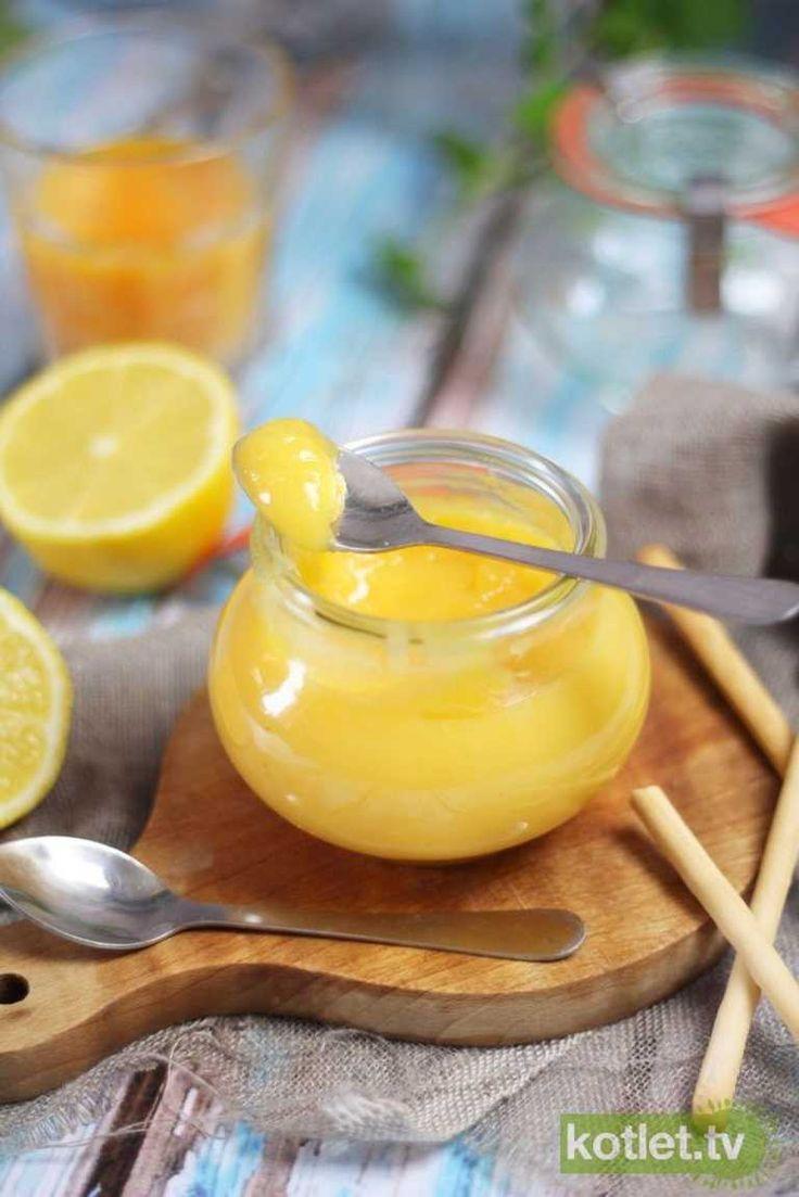 Lemon curd przepyszny krem cytrynowy