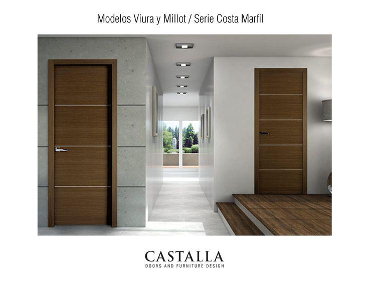 Serie Costa Marfil • Puertas Viura y Millot | Puertas Interiores | Puerta de Interior