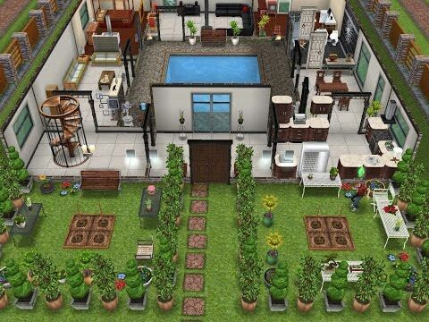 1000 images about sim on pinterest house design mansions and the sims - Sims freeplay designer home ...