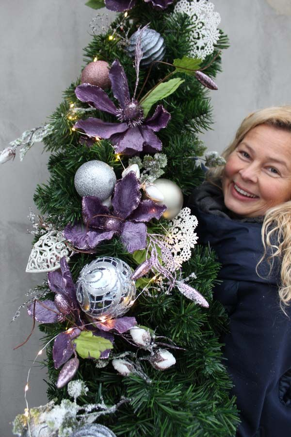Girlanda Ze Swiatelkami Purple Passion Dl 1 5m Tendom Pl Christmas Wreaths Purple Holiday Decor