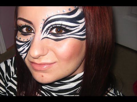 Zebra Makeup Tutorial! ManWomanFilm Inspired