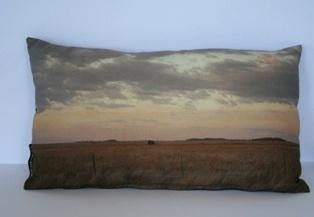 Traveller cushion - colour