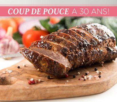 TOP 30 Recettes No 2: Filets de #porc au #miel et au #vinaigre #balsamique #recette #CDP30