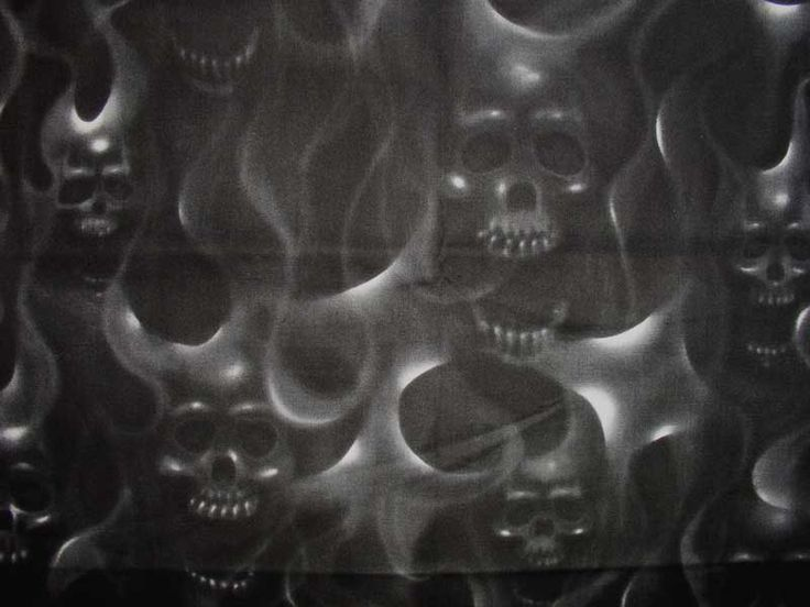 Smoke Fading to Skull Tattoo | ghost smoke skulls tattoo ...