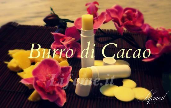 lifeme: BURRO DI CACAO FATTO IN CASA, SEMPLICE,SUPERIDRATANTE, ANCHE PER BAMBINI #ricetta #DIY #burro cacao #cosmetici #natura