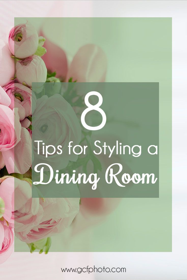 8 Easy tips for dining room decor ideas. Click through to read more & get a free art print to hang on your wall worth $30!