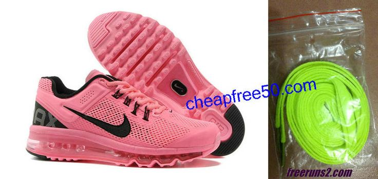 #WholesaleShoesHub.COM   Nike Air Max 2013 # red nikes # womens sneakers # girls running shoes 50% off pink
