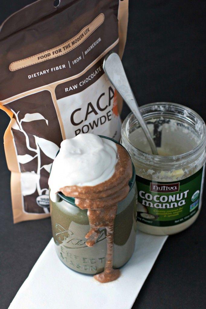 brownie batter smoothie ~vegan~ - BeginWithin Nutrition