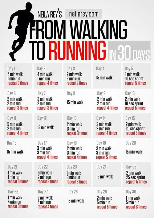 Walk to Run