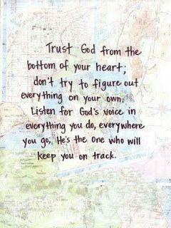 Trust God #quotes #words