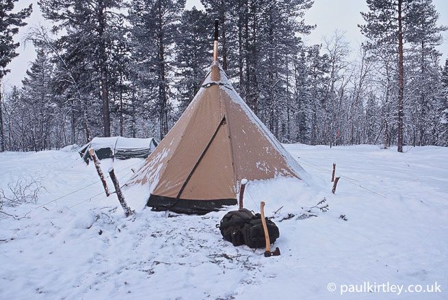 How To Live In A Heated Tent -A heated tent is a fantastic way to spend the long, dark nights of winter ...by PAUL KIRTLEY