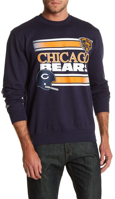 Mitchell & Ness NFL Bears Fleece Crew Neck Sweater