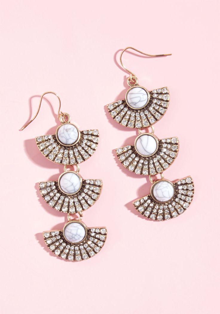 Fabulous Fanfare Earrings | ModCloth /  #ModClothSquad @modcloth #ad