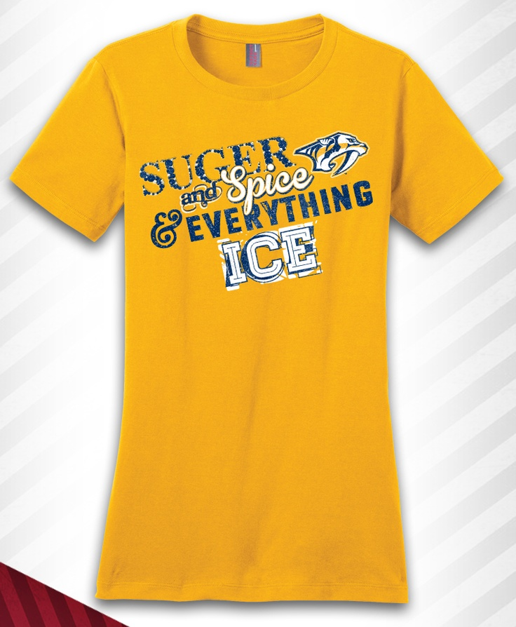 Nashville Predators Sugar and Spice and Everything ICE!