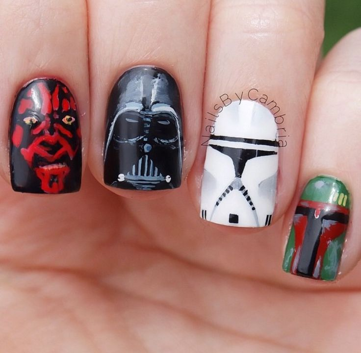 65 best Star wars images on Pinterest | Star wars nails, Fingernail ...