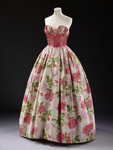 Dress  Pierre Balmain, 1957  The Victoria & Albert Museum