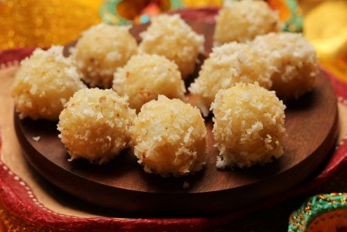 Instant #Coconut #Laddoo : Festival Quickies Recipe by Donna George on Plattershare