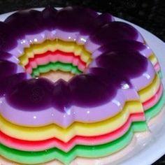 Götterspeise-Torte