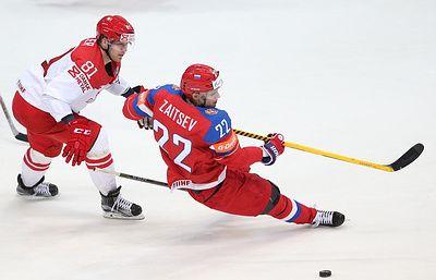 Россиянин Зайцев забросил шайбу в первом матче за Торонто Мэйпл Лифс - ТАСС
