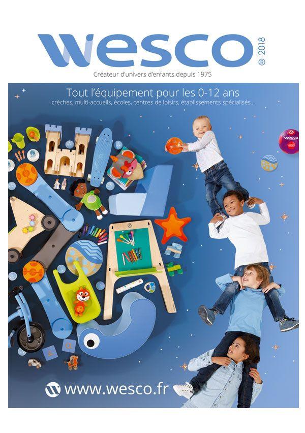 Couverture Catalogue Wesco 2018 Mobilier Enfant Puericulture Equipements Bebe