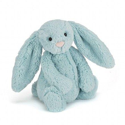 Bashful Aqua Bunny