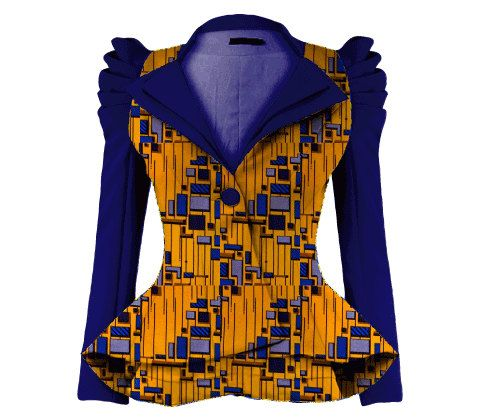 Hey, I found this really awesome Etsy listing at https://www.etsy.com/listing/187846247/african-ankara-jackets