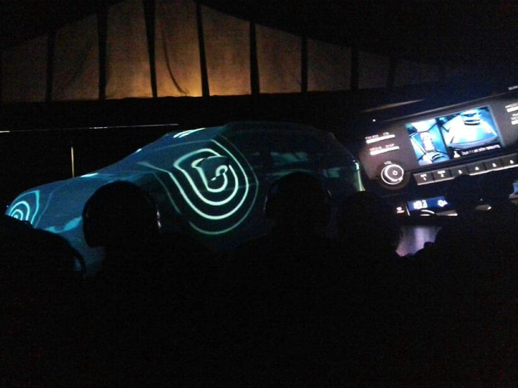 Video Mapping All New Nissan X-TRAIL