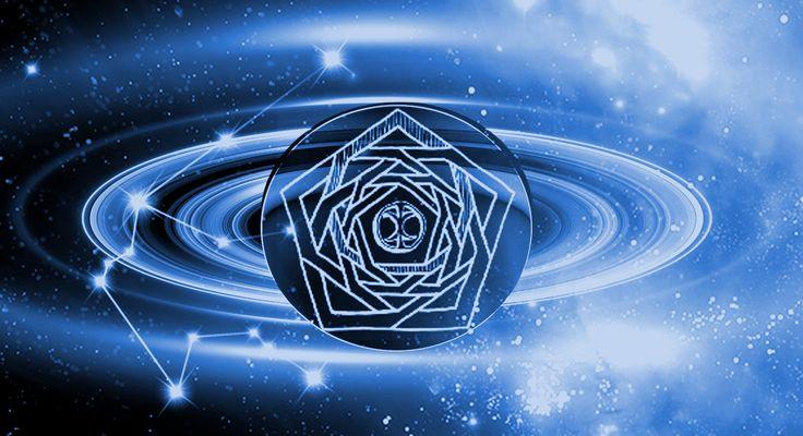 Celestial Saturn-Aquarii
