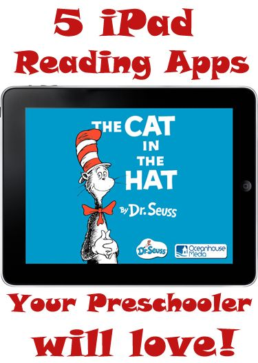 iPad Reading Apps for your preschooler.