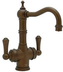 Rohl Perrin & Rowe Traditional Triflow 2-Lever Bar Faucet