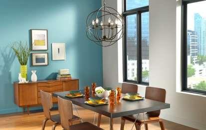 Colore per le pareti 2015: le ultime idee e tendenze [FOTO] - Consigli utili sulle tendenze in materia di colore per le pareti 2015: i colori più trendy sono sicuramente il blu e il verde in diverse possibili declinazioni.