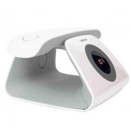Le téléphone Retro de Logicom est un téléphone sans fil avec répondeur de 15 minutes.Rappelant le design des téléphones à cadran, le Retro possède une base avec un disque de boutons pour régler le volume sonore, écouter votre répondeur ou effacer vos messages.Le Retro possède un répertoire de 20 entrées et un journal d'appels des 10 derniers numéros.