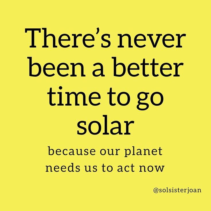 Will the economics of going solar be better in 10 or 20 years? Perhaps but now is the time to act on climate. . I think about my children and grandchildren looking at me and asking did you do everything you could to prevent a climate crisis? . In some states the economics of going solar are positive from day one. In others it may require an additional investment of $30 per month or more. I dont know about you but I definitely spend an extra $30 per month on less important things. . Theres…