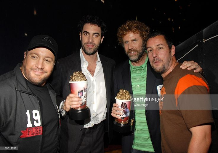 Kevin James, Sacha Baron Cohen, Will Ferrell and Adam Sandler