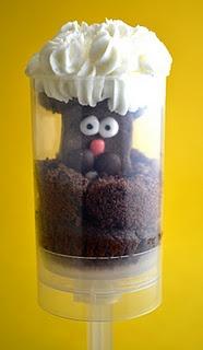 Groundhog Push up cake pop- funny!