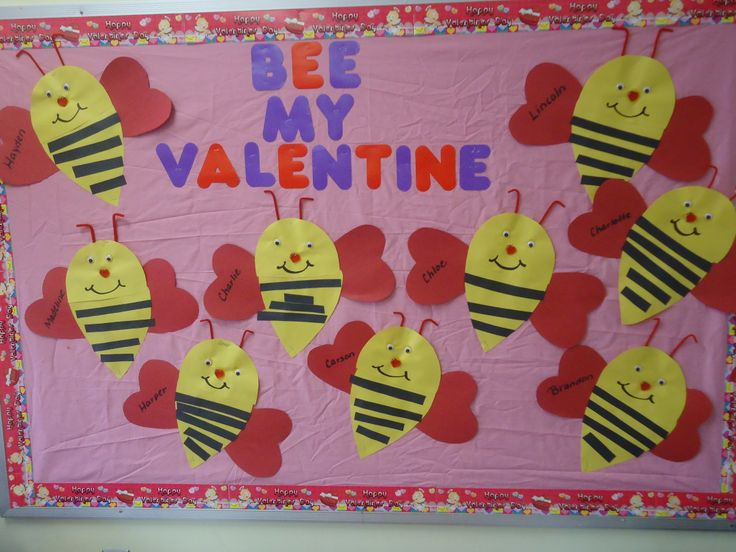 17 best ideas about valentine bulletin boards on pinterest for Preschool crafts for february