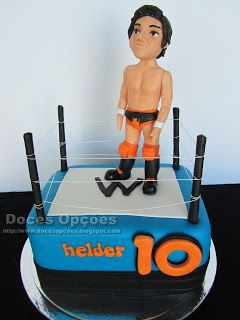 Doces Opções: O Helder foi ao Wrestling no seu 10º aniversário
