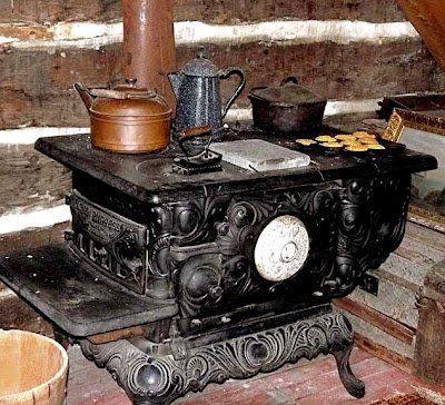 Cocina a le a mi casa de campo pinterest - Cocinas de lena antiguas ...