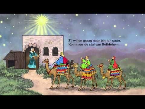 Kom naar de stal van Bethlehem, met kerst knutsel